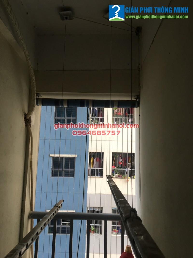 Thay dây cáp cho giàn phơi nhà chị Nga tại Quan Hoa, Cầu Giấy