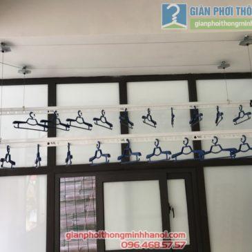 Ngắm Shoot hình lắp giàn phơi Thanh Xuân nhà chị Thu, Ngõ 195 Định Công