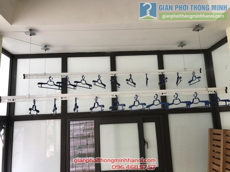 Lắp giàn phơi Thanh Xuân nhà chị Thu, ngõ 195 Định Công
