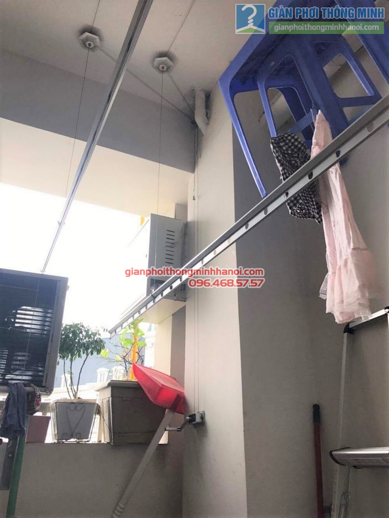 Sửa giàn phơi cho nhà cô Huệ, Cầu giấy, Hà Nội_01