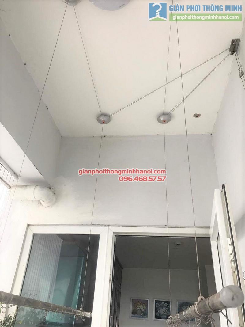 Sửa giàn phơi quần áo nhà anh Hà, Thủ Dầu Một, Bình Dương_ 05