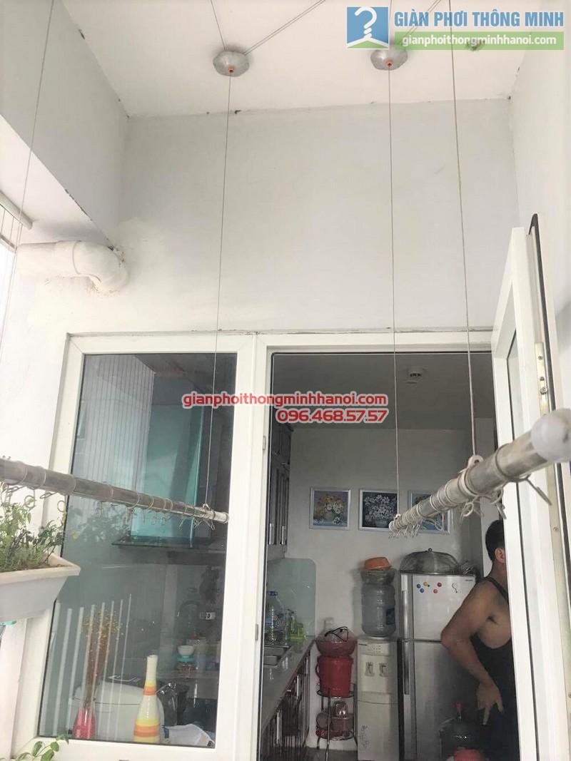 Sửa giàn phơi quần áo nhà anh Hà, Thủ Dầu Một, Bình Dương_ 06