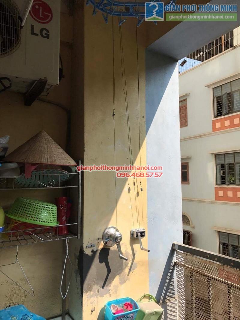 Giàn phơi Hà Nội GP990 song hành cùng giàn phơi giá rẻ trong không gian nhà cô Chi