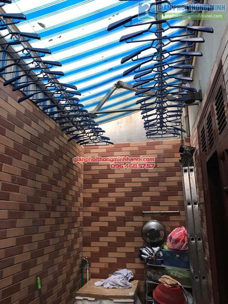 Sửa giàn phơi Hàn Quốc nhà  cô Thơ, Hẻm 84 Nguyễn Thái Bình, Quận 1, TP. Hồ Chí Minh - 03