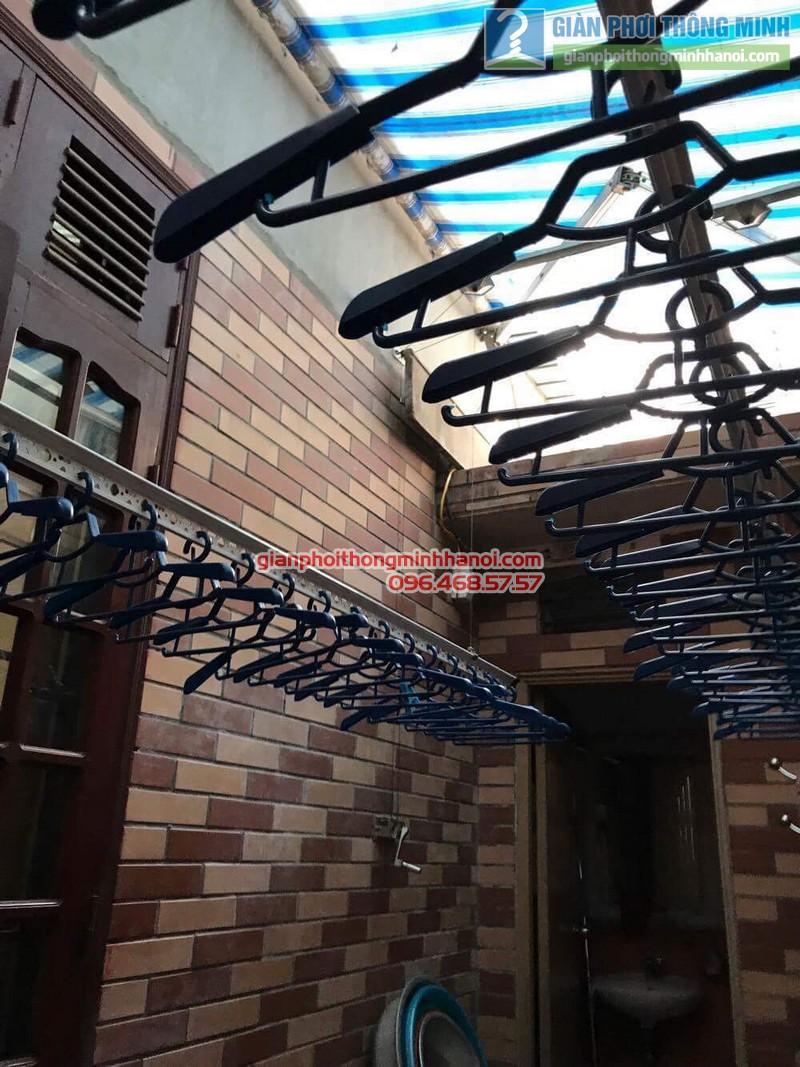 Sửa giàn phơi Hàn Quốc nhà  cô Thơ, Hẻm 84 Nguyễn Thái Bình, Quận 1, TP. Hồ Chí Minh - 02