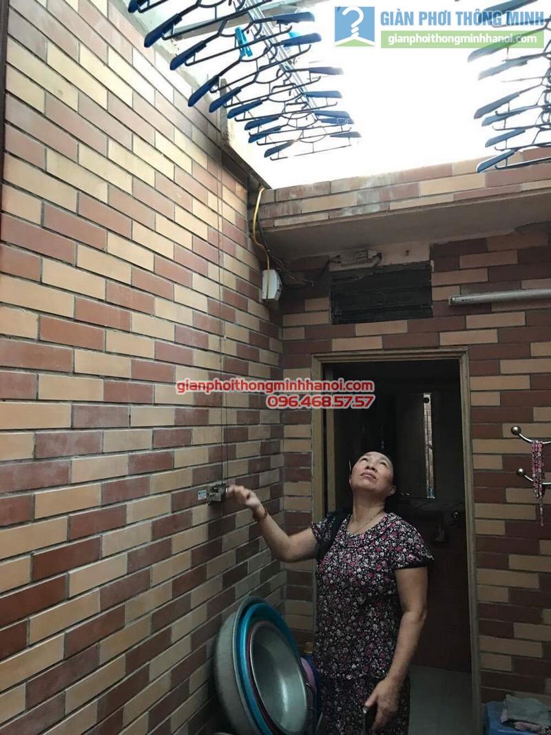 Sửa giàn phơi Hàn Quốc nhà cô Thơ, Hẻm 84 Nguyễn Thái Bình, Quận 1, TP. Hồ Chí Minh - 01