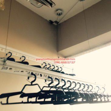 Lắp giàn phơi GP950 cho nhà chị Hiền, P1609, tòa 21T2 Hapulico, 83 Vũ Trọng Phụng, Thanh Xuân, Hà Nội