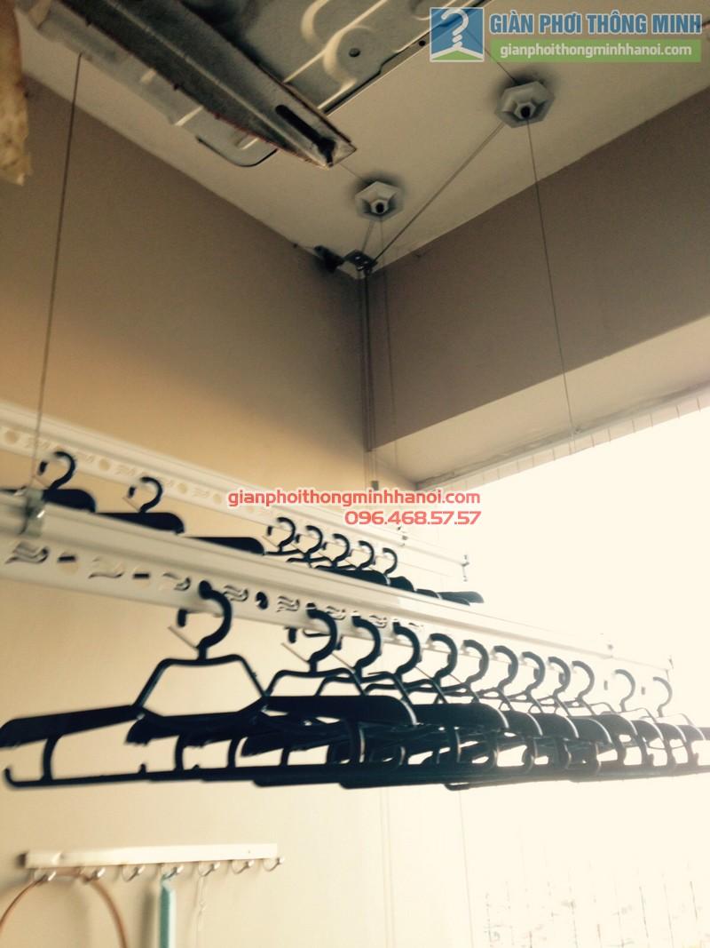 Khả năng phơi đồ nhiều lại gọn gàng của giàn phơi quần áo GP950