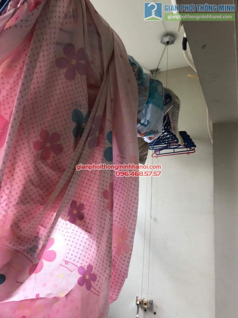 Sửa giàn phơi GP999b cho gia đình cô Khanh