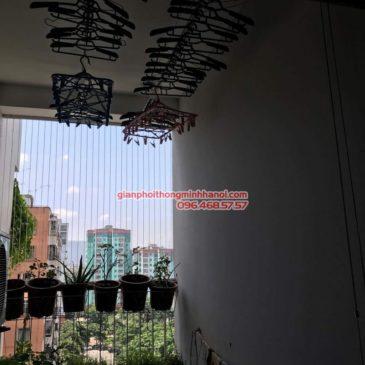 Lắp giàn phơi thông minh GP999B cho nhà chị Thu, chung cư Celadon City, Tân Phú, Tp. Hồ Chí Minh