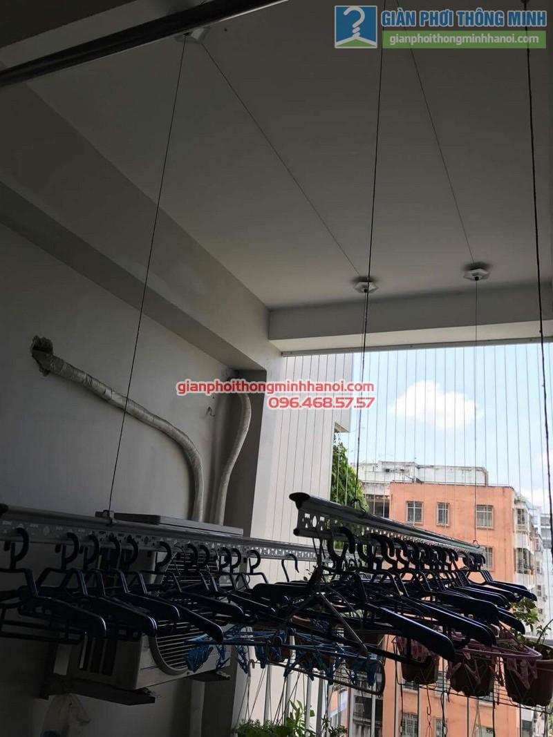 Không gian sống đẹp cùng với giàn phơi Gp999B của gia đình chị Thu _03