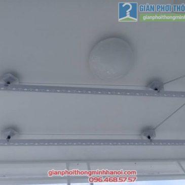 Không gian phơi đẹp với giàn phơi GP999B, nhà chị Nga, chung cư Bình An, TP. Vũng Tàu