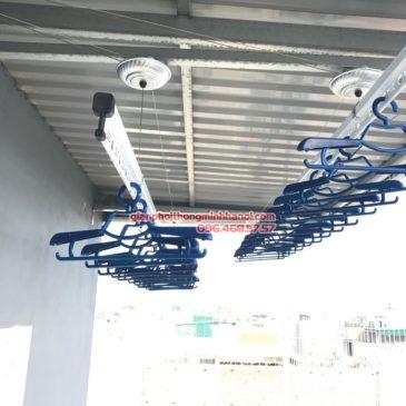 Ngắm giàn phơi Hòa Phát Air GP701 được lắp tại nhà chị Nga, 20 Ba cu thành phố Vũng Tàu
