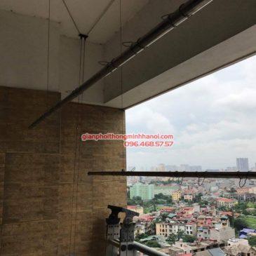 Sửa giàn phơi nhà cô Nga, chung cư HH2 Bắc Hà, Nam Từ Liêm, Hà Nội