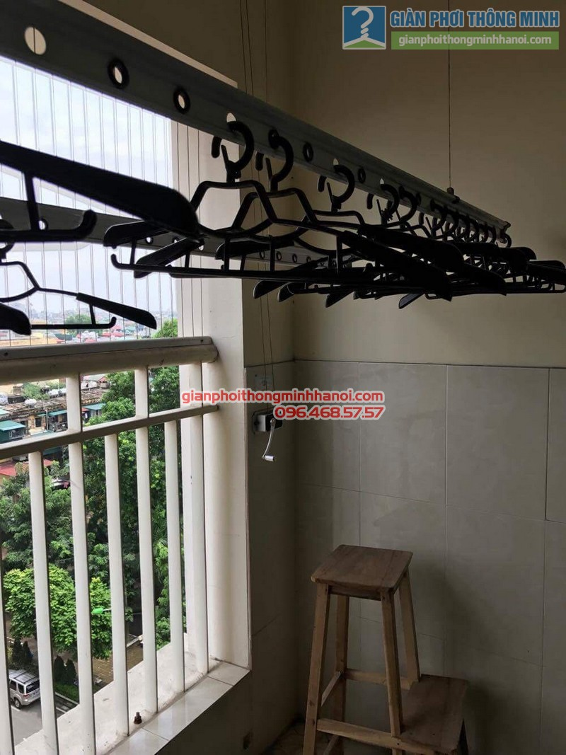 Hình ảnh thực tế giàn phơi GP888B nhà cô Hạnh - 03