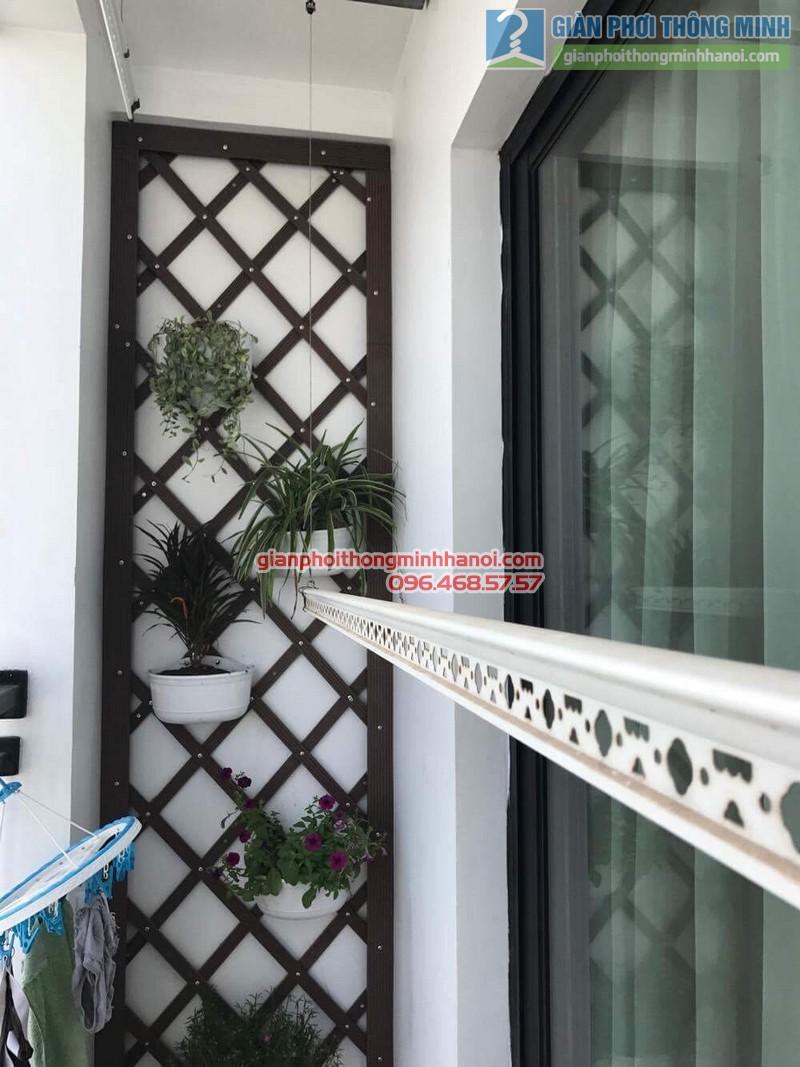 Sửa giàn phơi nhà chị Lợi, chung cư Vinaconex 3