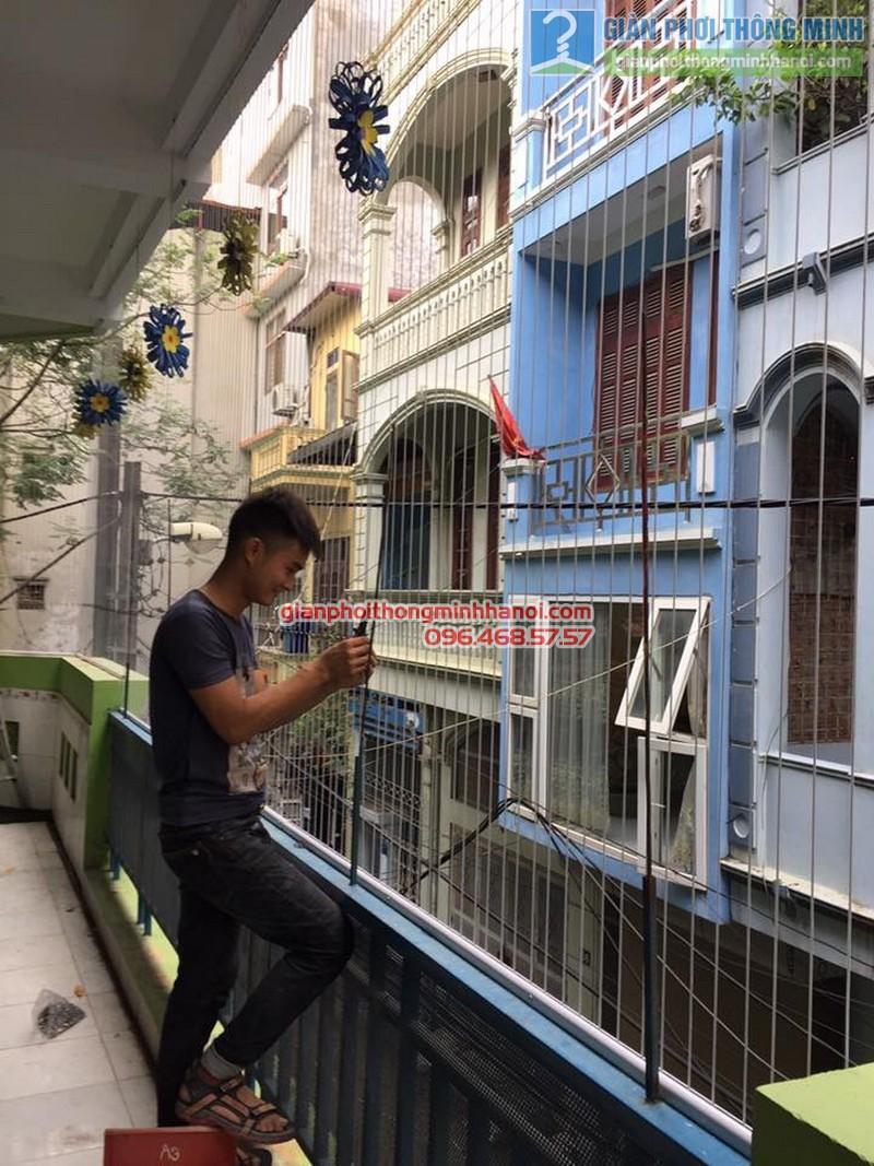 Lắp lưới an toàn cho trường mầm non Mai Ca