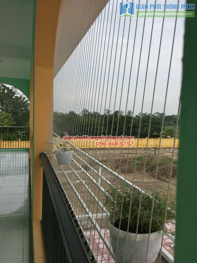 Lắp lưới an toàn trường mầm non Tuân Chính, Vĩnh Tường, Vĩnh Phúc - 01