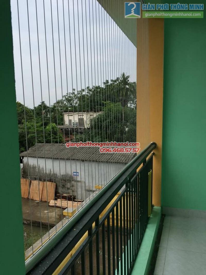 Lắp lưới an toàn trường mầm non Tuân Chính, Vĩnh Tường, Vĩnh Phúc - 02