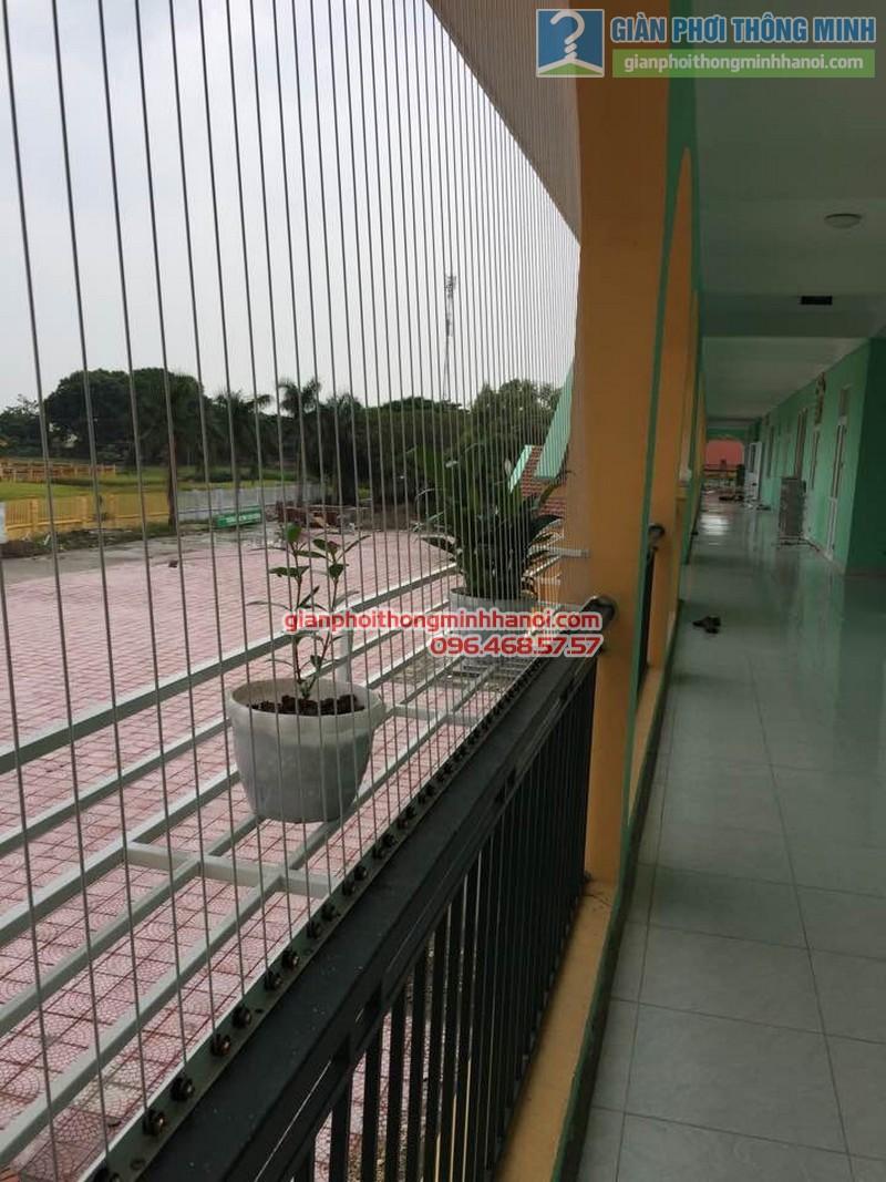 Lắp lưới an toàn trường mầm non Tuân Chính, Vĩnh Tường, Vĩnh Phúc - 03