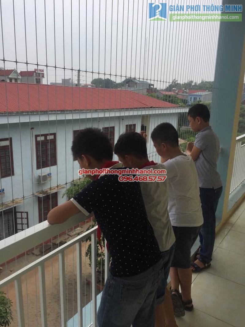 Lắp lưới an toàn cho trường tiểu học Minh Trí - 04