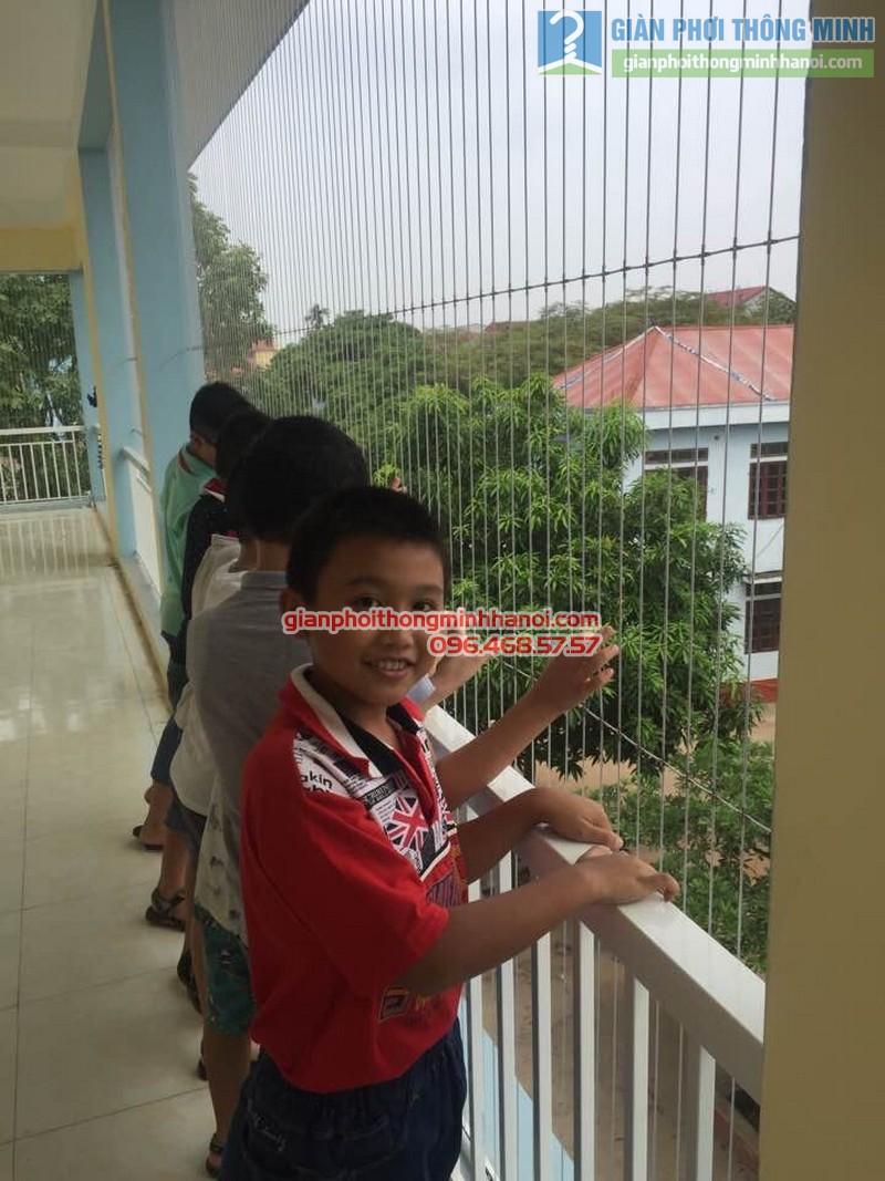 Lắp lưới an toàn cho trường tiểu học Minh Trí - 05