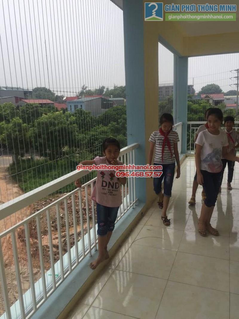 Lắp lưới an toàn cho trường tiểu học Minh Trí - 03