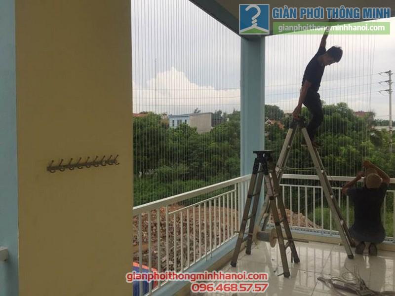 Lắp lưới an toàn cho trường tiểu học Minh Trí - 02
