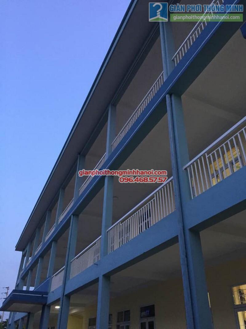 Lắp lưới an toàn cho trường tiểu học Minh Trí - 06