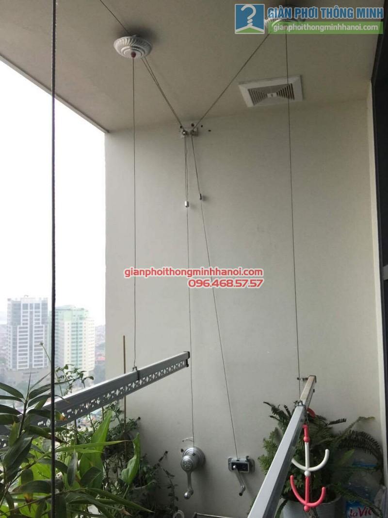 Sửa giàn phơi cho nhà anh Hiệu, ngõ 20, Hồ Tùng Mậu, Cầu Giấy, Hà Nội