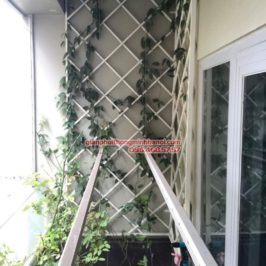 Lắp giàn phơi Sankaku cho nhà chị Phương, chung cư Tecco Town, Quận Bình Tân, TP. Hồ Chí Minh