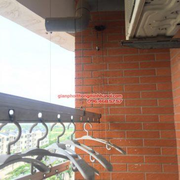 Thay dây cáp giàn phơi thông minh nhà anh Hoàng, P602, Tòa CT2A, KĐT Nghĩa Đô, Từ Liêm, Hà Nội
