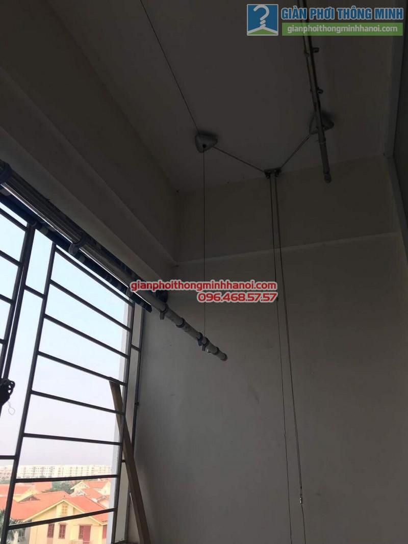 Sửa giàn phơi tại Gia Lâm nhà chị Quyên, chung cư D4, KĐT Đặng Xá - 01