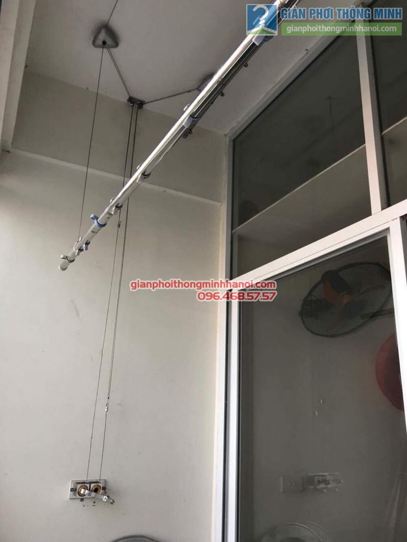 Sửa giàn phơi tại Gia Lâm nhà chị Quyên, chung cư D4, KĐT Đặng Xá - 02