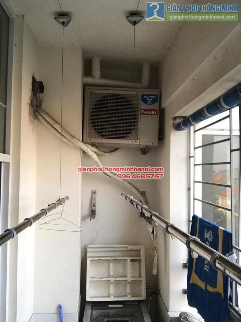 Sửa giàn phơi tại Gia Lâm nhà chị Quyên, chung cư D4, KĐT Đặng Xá - 04