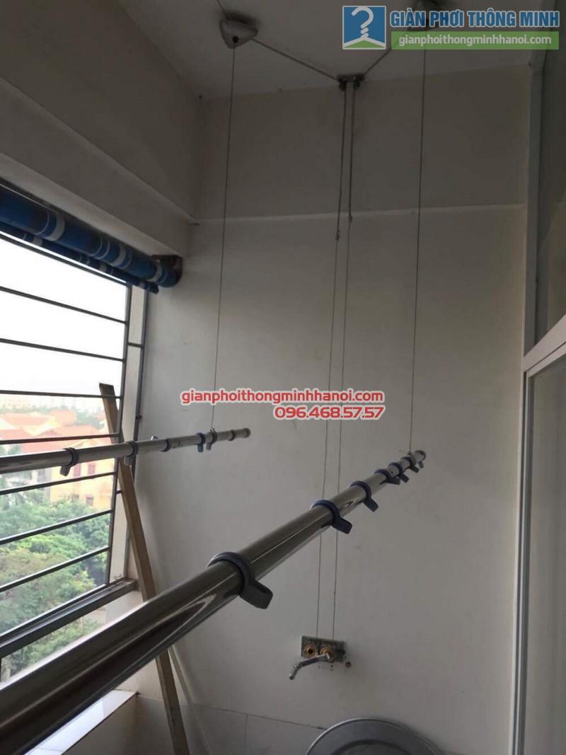 Sửa giàn phơi tại Gia Lâm nhà chị Quyên, chung cư D4, KĐT Đặng Xá - 07
