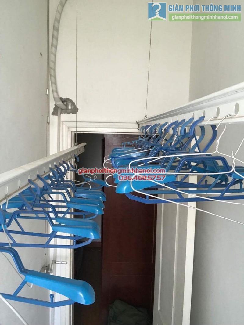 Sửa giàn phơi nhà chị Thao, chung cư Xuân Phương Viglacera, Từ Liêm, Hà Nội - 05