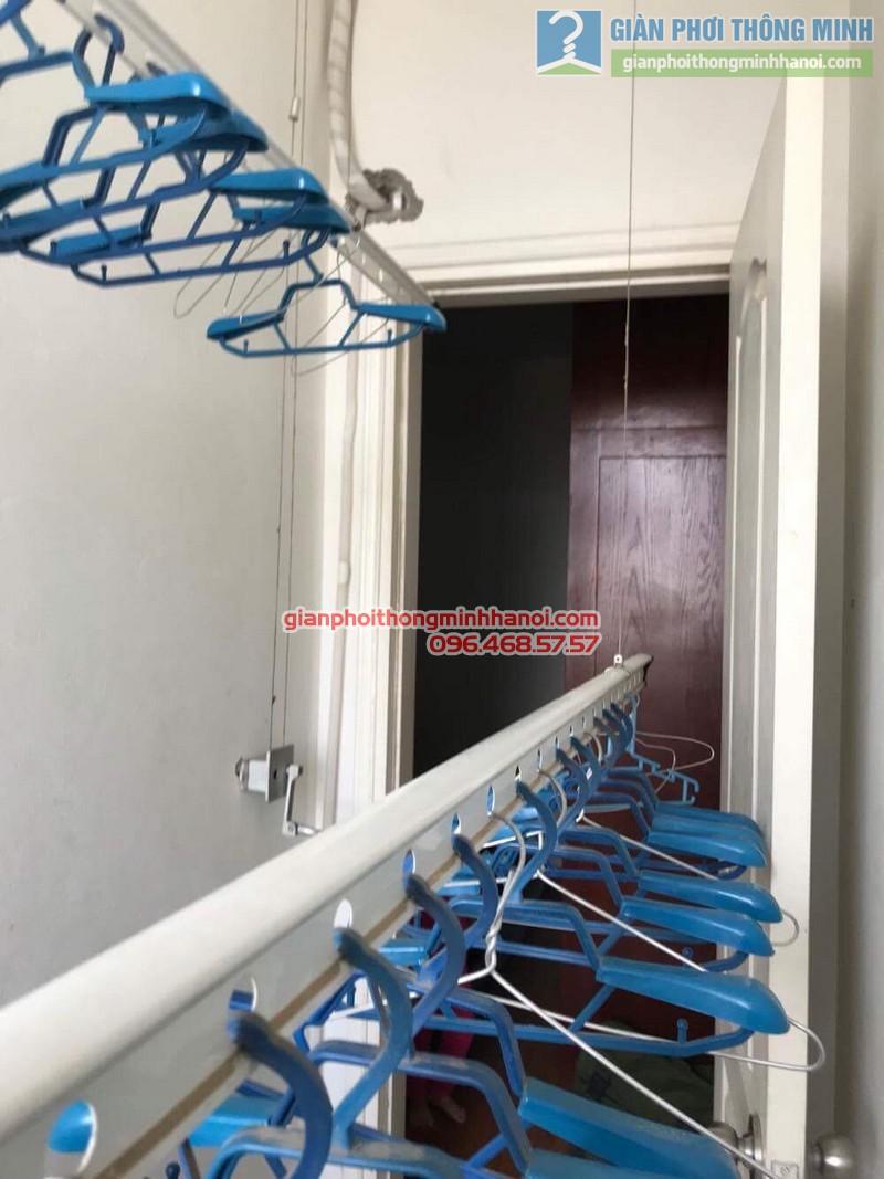 Sửa giàn phơi nhà chị Thao, chung cư Xuân Phương Viglacera, Từ Liêm, Hà Nội - 03