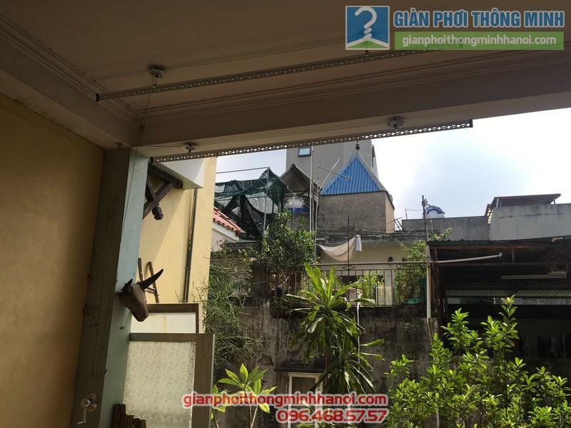 Lắp giàn phơi tại Ba Đình nhà chị Minh, ngõ 179 Đội Cấn-04