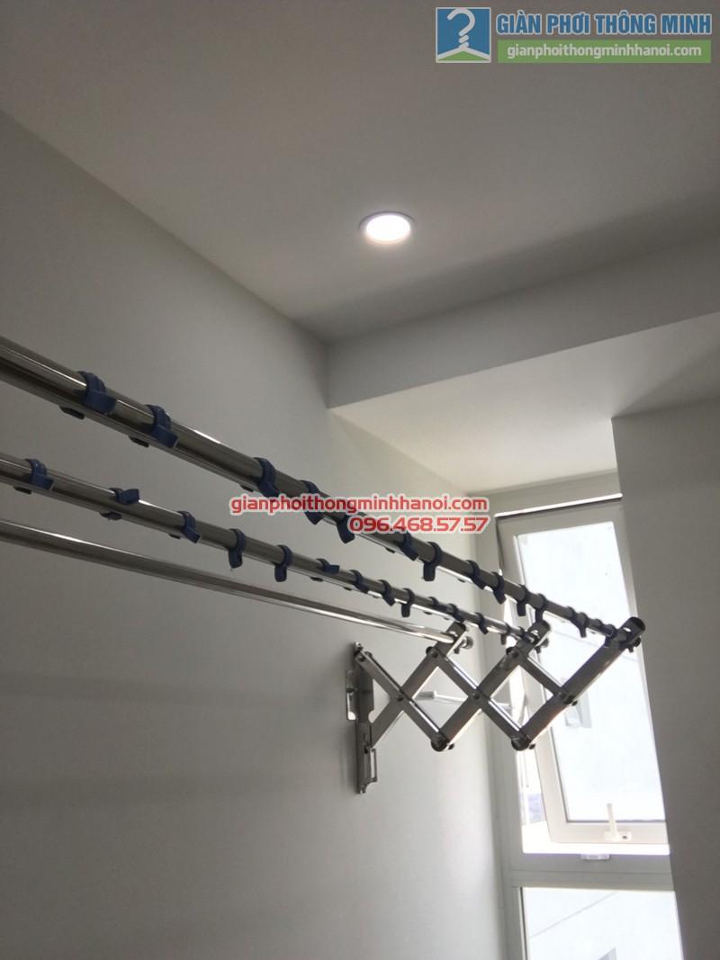 Lắp giàn phơi gắn tường cho nhà chị Đào - 04