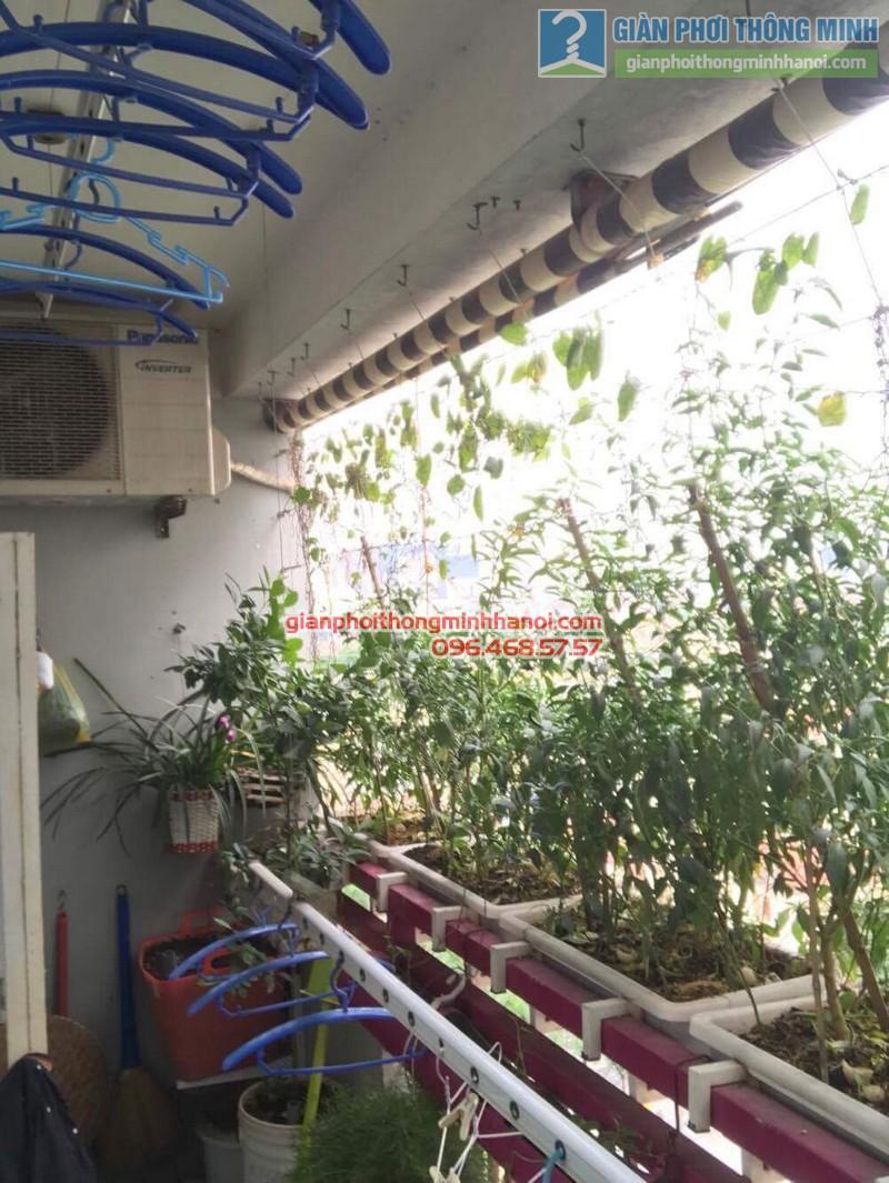 Sửa giàn phơi nhà cô Huệ, Nam Từ Liêm, Hà Nội-03