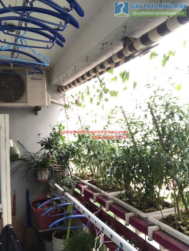 Sửa giàn phơi nhà cô Huệ, Nam Từ Liêm, Hà Nội-04