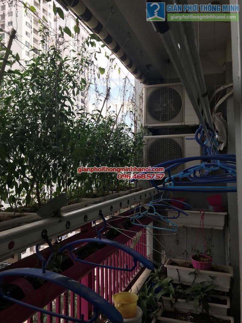 Sửa giàn phơi nhà cô Huệ, Nam Từ Liêm, Hà Nội-05