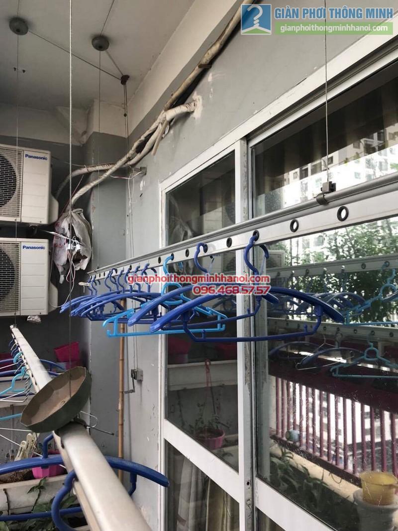 Sửa giàn phơi nhà cô Huệ, Nam Từ Liêm, Hà Nội-06