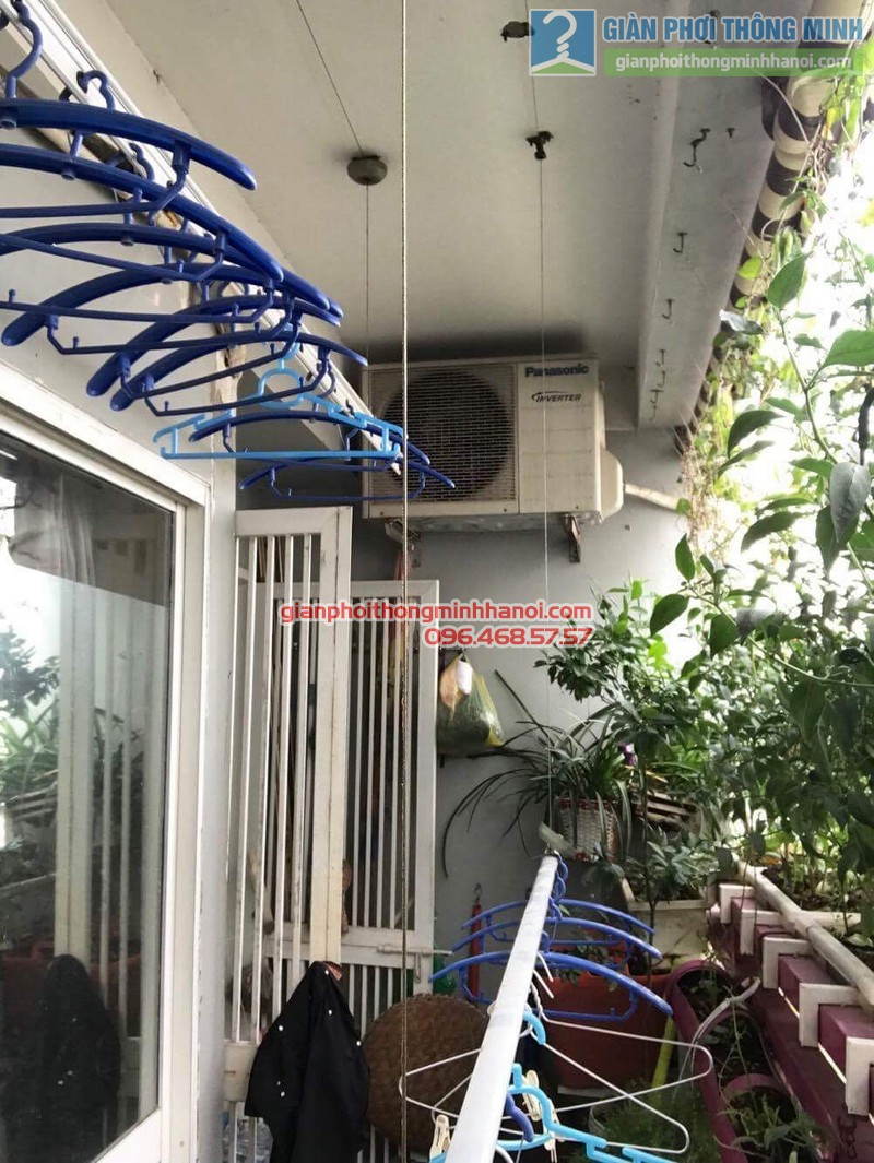 Sửa giàn phơi nhà cô Huệ, Nam Từ Liêm, Hà Nội-07