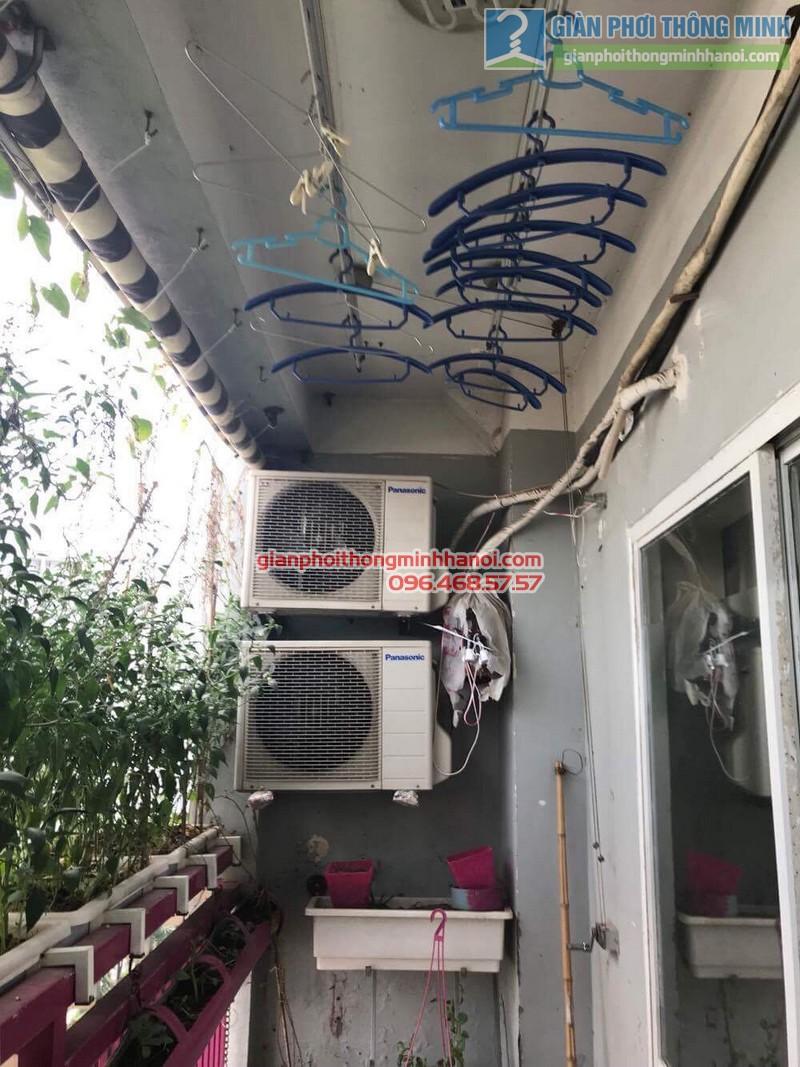 Sửa giàn phơi nhà cô Huệ, Nam Từ Liêm, Hà Nội-09