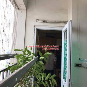 Sửa giàn phơi giá rẻ cho nhà anh Hữu, chung cư Home City, Cầu Giấy, Hà Nội