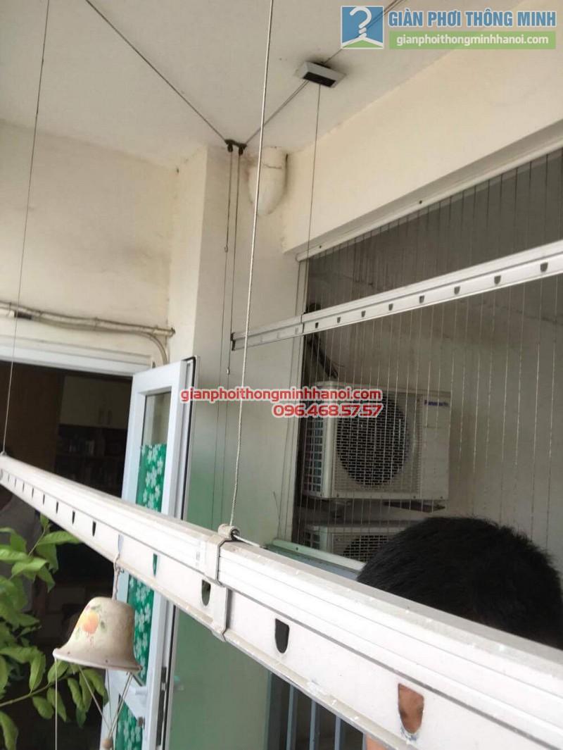 Sửa giàn phơi giá rẻ cho gia đình anh Hữu, Cầu Giấy, Hà Nội - 08