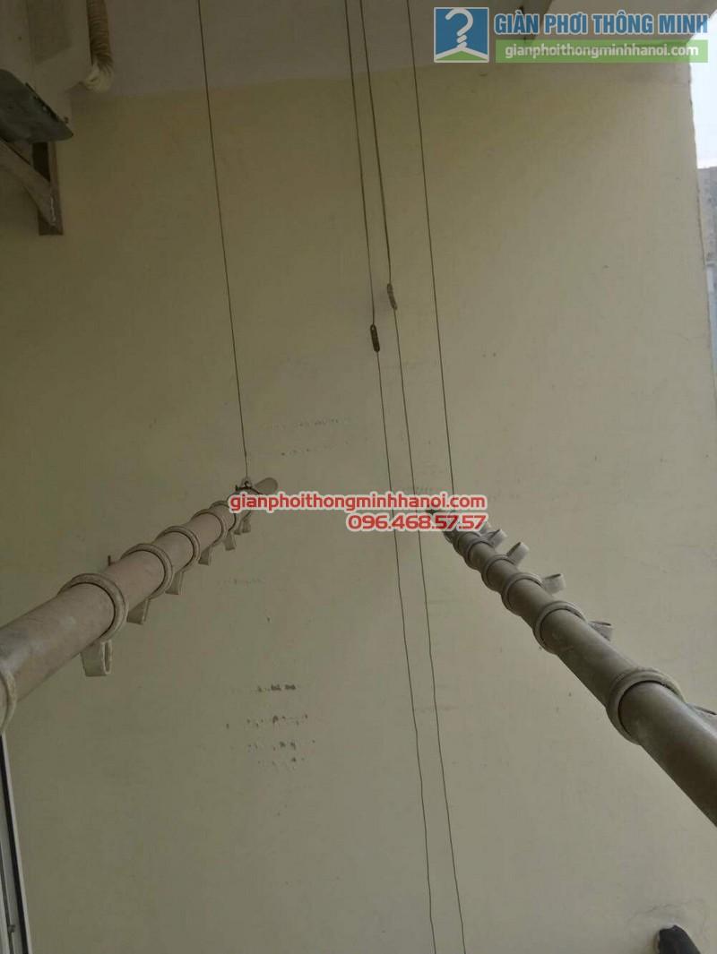 Sửa giàn phơi thông minh nhà chị Thảo, Chung cư Viện Bỏng Thanh Trì, Hà Nội - 07