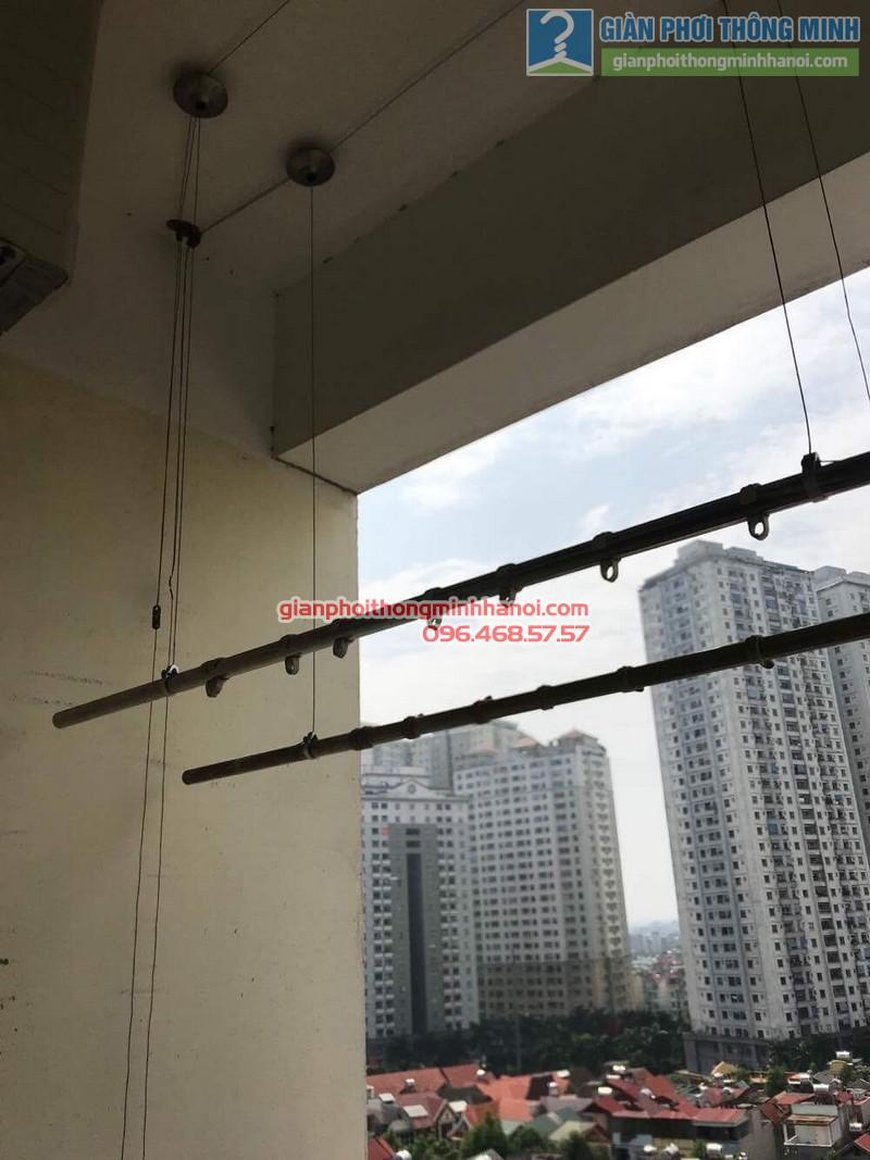 Sửa giàn phơi thông minh nhà chị Thảo, Chung cư Viện Bỏng Thanh Trì, Hà Nội - 05